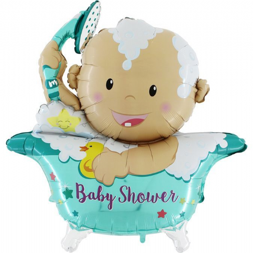 "42"" Baby-Star-Shower-3D"